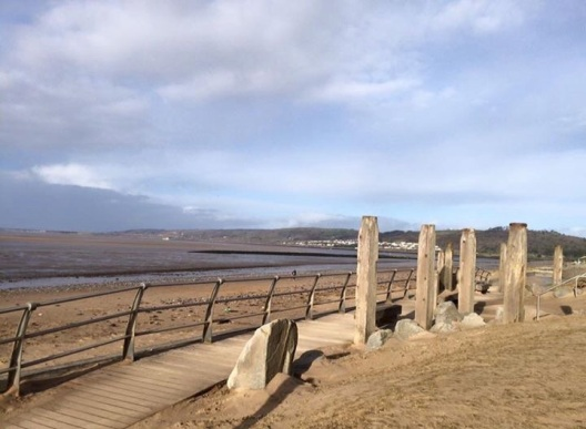 Beach Coastal Path Seascape Llanelli Wales