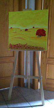 Cornfield painting irenegrace art Montefrio