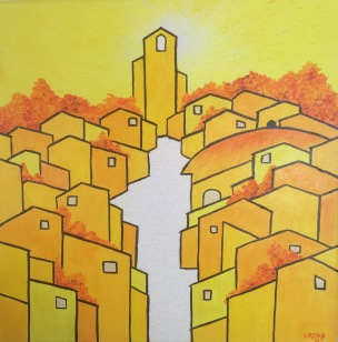 Golden City 3 30x30 £195